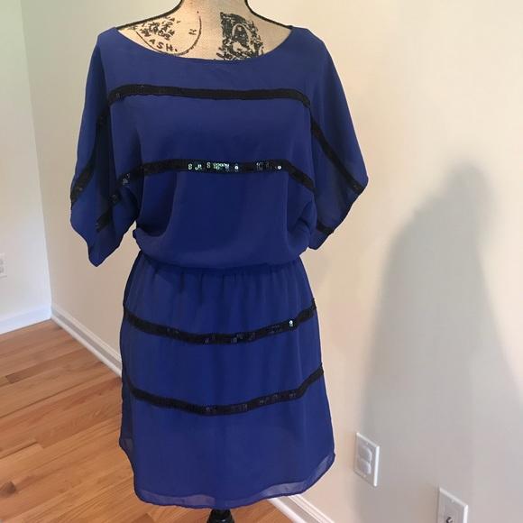 Jessica Simpson Dresses Blue Dress Poshmark